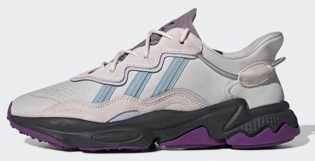 Женские кроссовки adidas Ozweego (Premium-class) белые