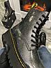 Женские демисезонные ботинки Dr. Martens Jadone Galaxy (Premium-class) черные, фото 7