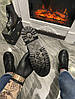 Женские демисезонные ботинки Dr. Martens Jadone Galaxy (Premium-class) черные, фото 6