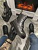 Женские демисезонные ботинки Dr. Martens Jadone Galaxy (Premium-class) черные, фото 2