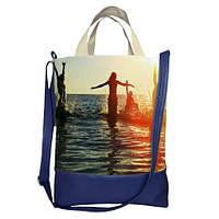 Сумка женская с принтом ,магазин женских сумок SCB_14A115_TSI