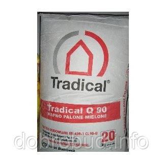 """Вапно негашене мелене """"TRADICAL"""" 20 кг"""