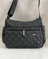 Стильная стеганая женская сумка, дутая, фото 1