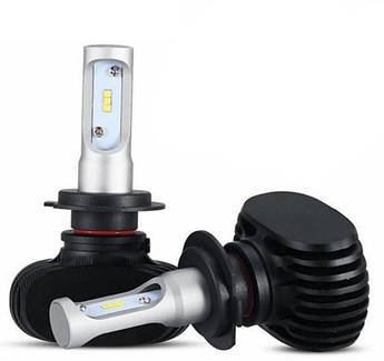Лампы Led S1 цоколь H7 комплект 2 штуки