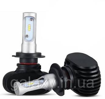 Светодиодные лампы S1 H7 2 штуки для головного освещения 4000 lm / одной лампы