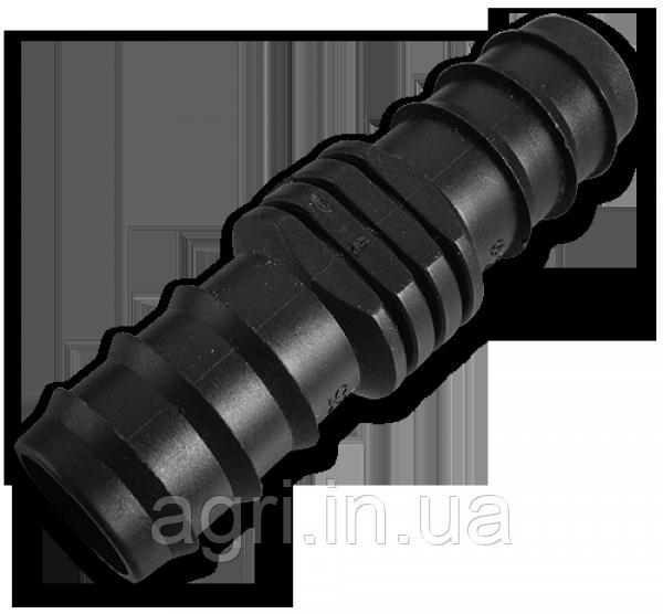 Фитинг соединительный зубчатый для трубки 16мм