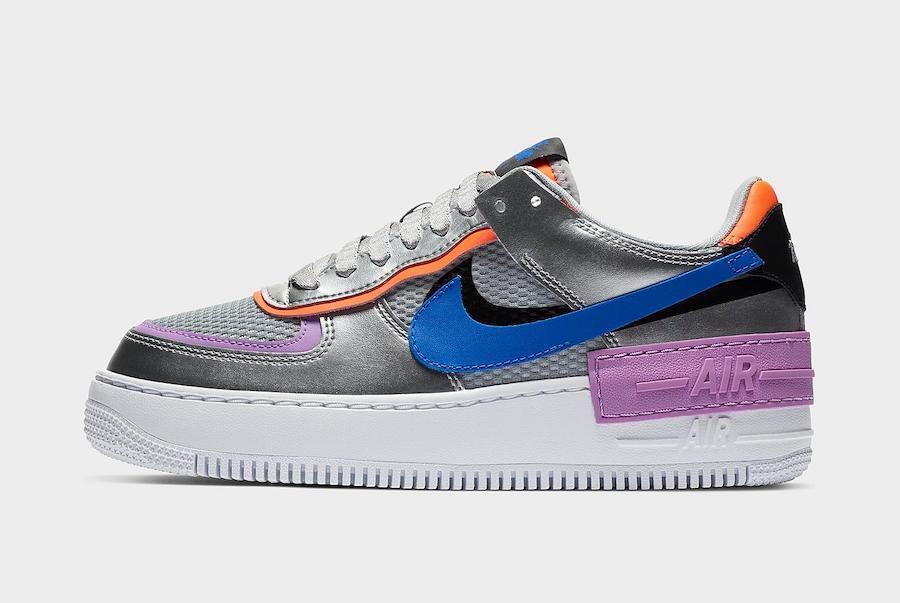 Женские кроссовки Nike Air Force 1 Low (Premium-class) разноцветные