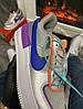 Женские кроссовки Nike Air Force 1 Low (Premium-class) разноцветные, фото 7