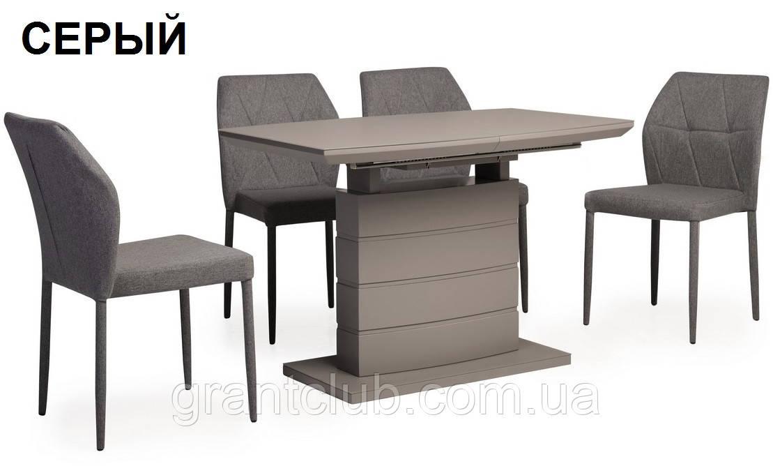 Стол TMM-50-2 серый 110/150х70 (бесплатная доставка)