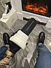 Женские демисезонные ботинки Alexander McQueen Tread Slick (Premium-class) черно-белые, фото 5
