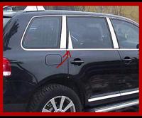 Хром накладки на стойки volkswagen touareg (2010 -    ) (таурег) OmsaLine (7533139), нерж 8 шт