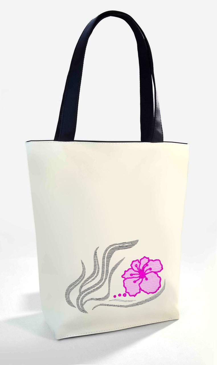 """Женская сумка """"Лилия """" Б338 - белая"""
