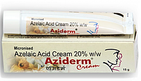 Крем для проблемної шкіри Азідерм, 15 г., Азидерм крем, Aziderm cream Azelaic Acid, Аюрведа Здесь