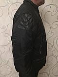 Тёплые мужские фабричные качественные натуральные пуховики, фото 3