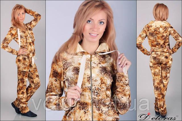 Модний костюм для прогулянок Clifton золотий леопард