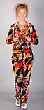 Леопардовый спортивный костюм из бархата для дома,очень удобен,разм С,М,Л,ХЛ., фото 3