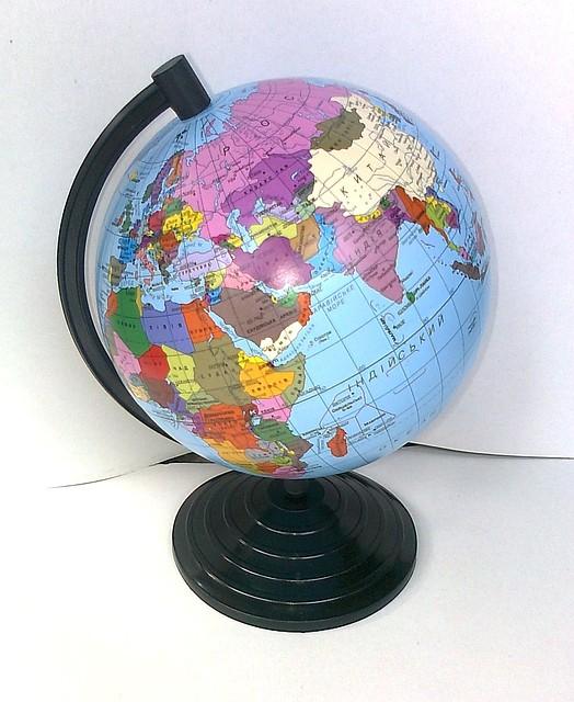 Глобус політичний, діаметр 160 мм