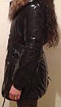 Стильные красивые женские куртки с натуральным мехом, фото 6