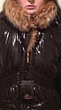 Стильные красивые женские куртки с натуральным мехом, фото 10