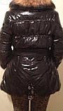 Стильные красивые женские куртки с натуральным мехом, фото 7