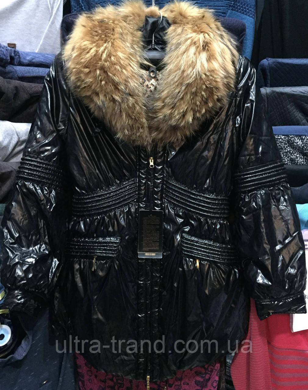 Стильные красивые женские куртки с натуральным мехом