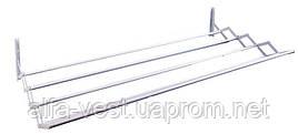 Сушилка для одежды раскладная 1000 мм 5 перекладин  белая (соб. пр) ГОСПОДАР 92-1715