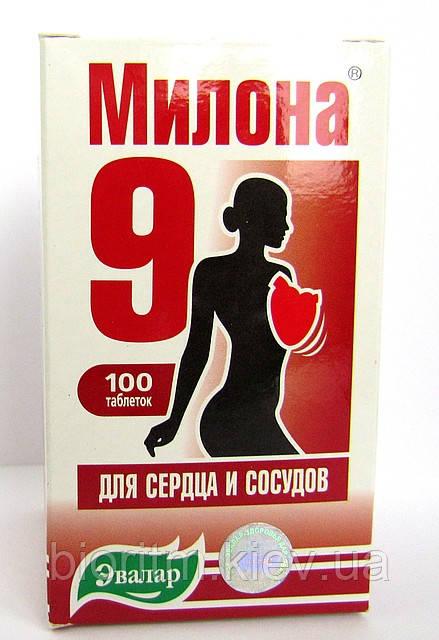 Мілона-9 (серцево-судинна система) 100табл