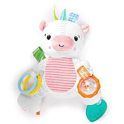 Развивающая игрушка Милый Единорог Bright Starts Bunch-O-Fun Plush Activity