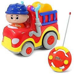 РАСПРОДАЖА!!! Пожарная машина на радиоуправлении для малышей Fire Truck Remote Control Little