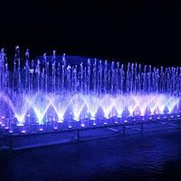 Aquaviva Фонтан музыкальный AquaViva прямоугольный 2х5 метра, 79 форсунок