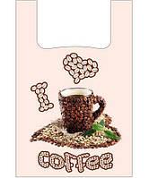 """Пакеты полиэтиленовые (28+2*7,5х49) """"Кофе""""Леони (100 шт)"""