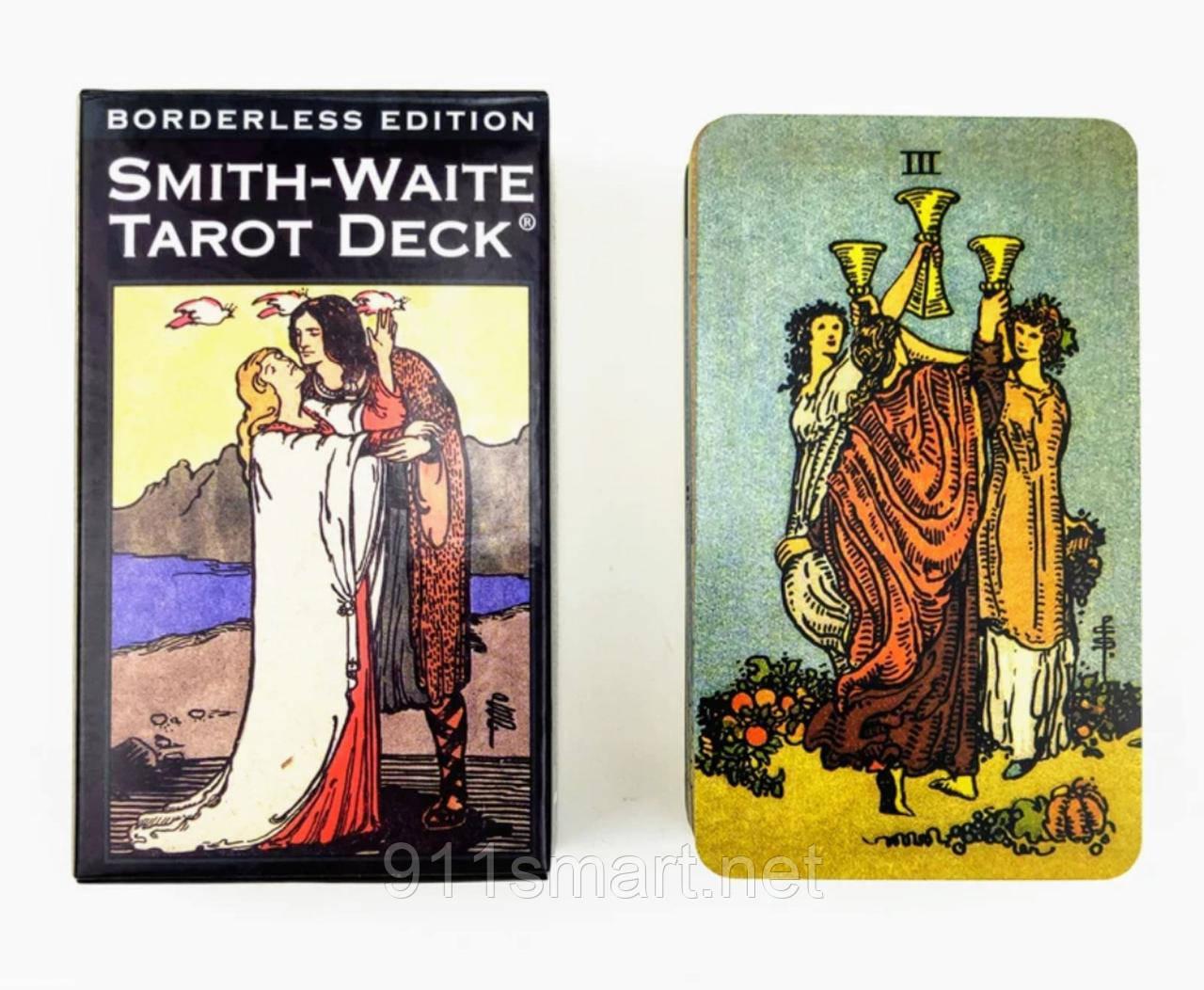 Карти Таро Уейта - Сміт, Безрамковий видання (Smith - Waite Borderless Edition tarot)