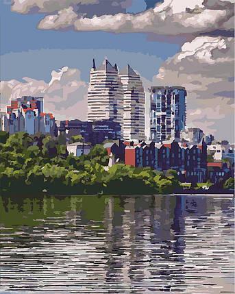 КНО2186 Раскраска по номерам Любимый город, Без коробки, фото 2