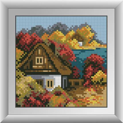 30486 Набор алмазной мозаики Осенний домик, фото 2