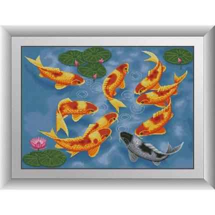 31060 Карпы кои Набор алмазной живописи, фото 2