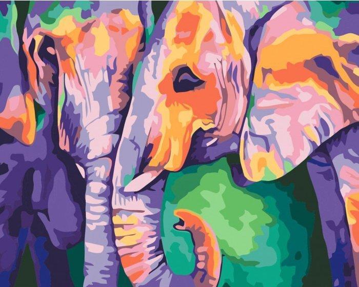 КНО2456 Раскраска по номерам Индийские краски, Без коробки