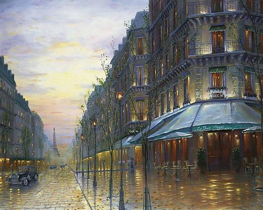КДІ-0444 Набір алмазної вишивки Нічний Париж, фото 2