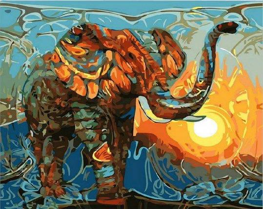 MR-Q1876 Раскраска по номерам Индийские мотивы, фото 2