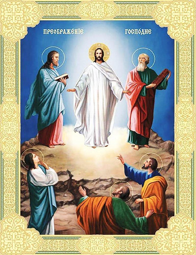 КДІ-0531 Набір алмазної вишивки Ікона Преображення Господнє