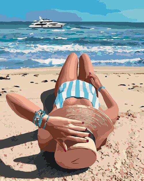 КНО4515 Раскраска по номерам Волшебное лето, Без коробки