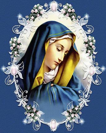 КДИ-0563 Набор алмазной вышивки икона Мадонна, фото 2