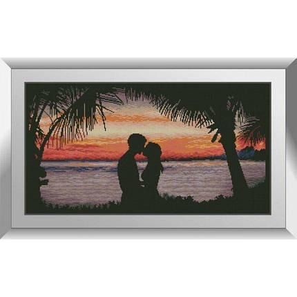 31187 Поцілунок на заході Набір алмазної живопису, фото 2