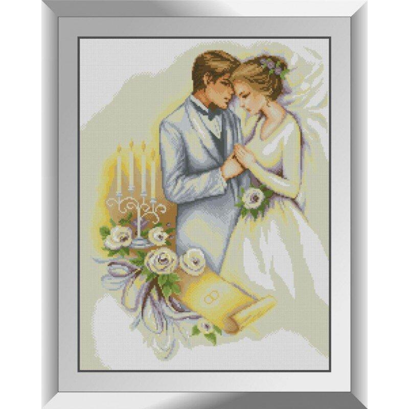31189 День свадьбы Набор алмазной живописи
