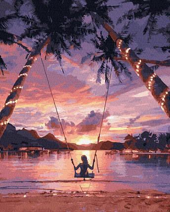 BK-GX29710 Набор раскраски по номерам Райское наслаждение, Без коробки, фото 2