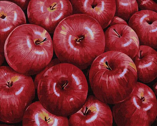 BK-GX34602 Набор раскраски по номерам Красные яблоки, Без коробки, фото 2