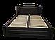 Кровать деревянная София (120*200) венге, фото 4