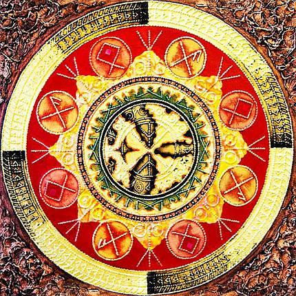 КДІ-0648 Набір алмазної вишивки Мандала – Виконання бажань, фото 2