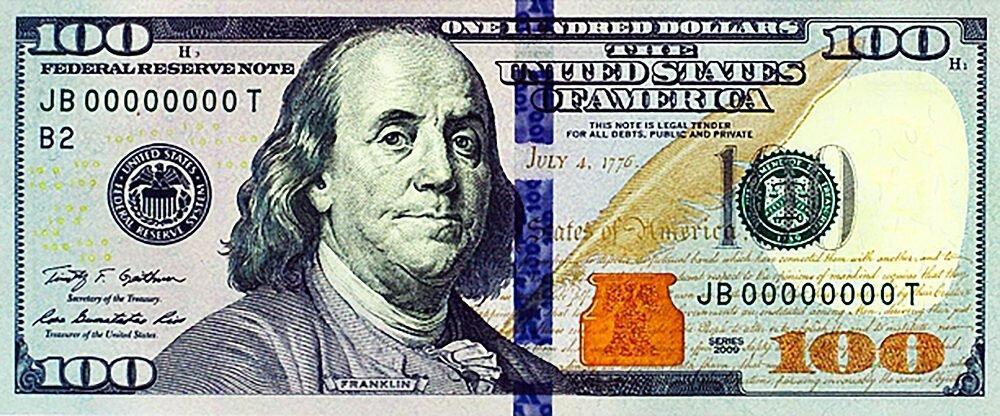 КДИ-0945 Набор алмазной вышивки 100 долларов