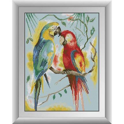 30976 Папуги Ара Набір алмазної живопису, фото 2