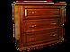 Кровать деревянная Вера (с кованным элементом)200*200, фото 6